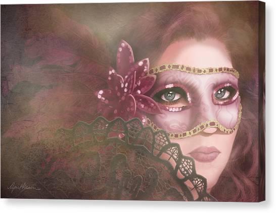 Masked IIi Canvas Print