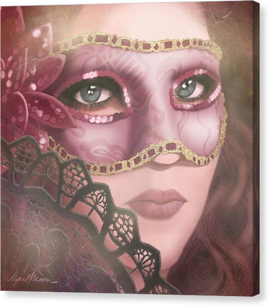 Masked Iv Canvas Print