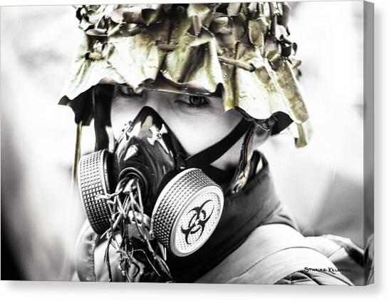 Canvas Print - Masked War by Stwayne Keubrick
