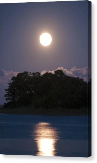 Masonboro Moonrise Canvas Print