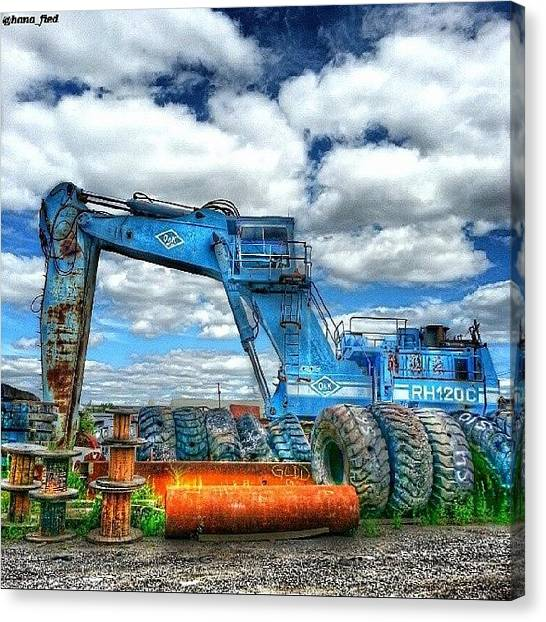 Equipment Canvas Print - Massive Machine by Brian Lyons