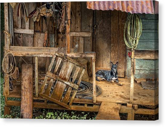 Master's Home Canvas Print by Nancy Strahinic