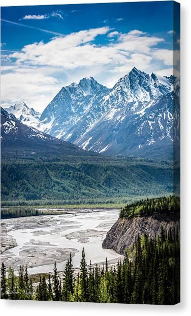 Matanuska River  Canvas Print
