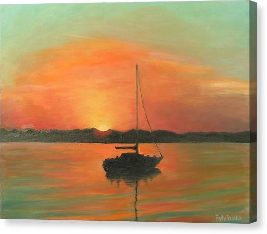 Matanzas Bay Sunrise Canvas Print