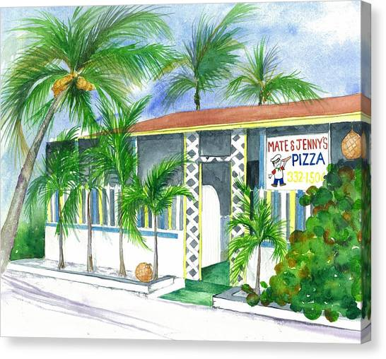 Eleuthera Art Canvas Print - Mate And Jennys Eleuthera Bahamas by Maria McBride