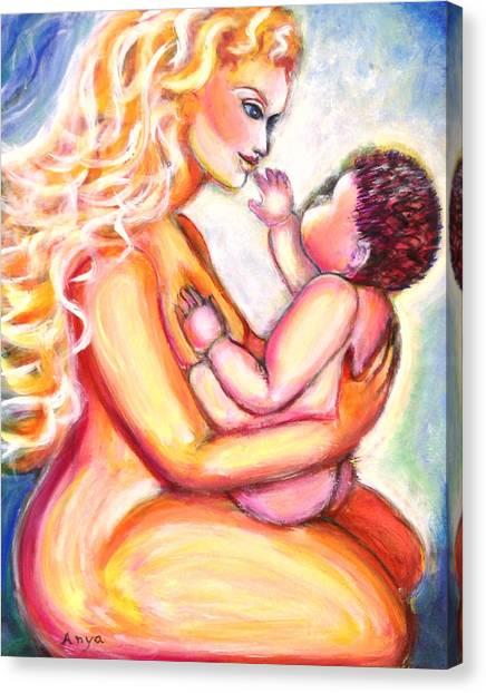 Maternal Bliss Canvas Print