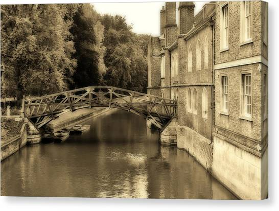 Mathematical Bridge Canvas Print