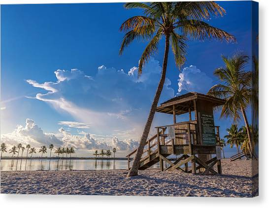 Matheson Hammock Park Atoll Canvas Print