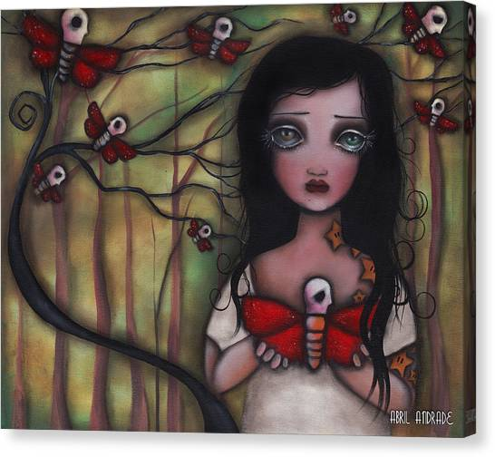 Matilda Canvas Print by  Abril Andrade Griffith