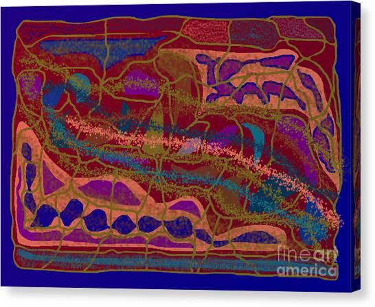 Matrix Canvas Print by Meenal C