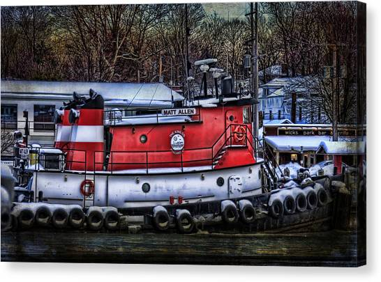 Matt Allen In Saugatuck Michigan Canvas Print