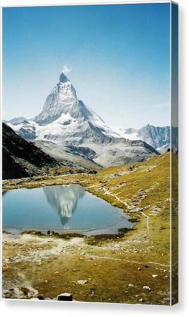 Matterhorn Cervin Reflection Canvas Print