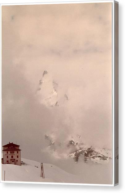 Matterhorn Circa 1970 Canvas Print