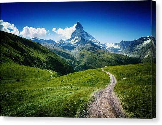 Switzerland Canvas Print - Matterhorn II by Juan Pablo De