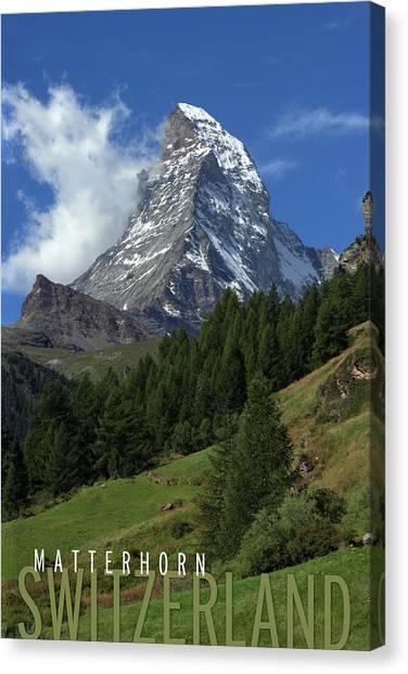 Matterhorn Canvas Print - Matterhorn by Ron Sumners