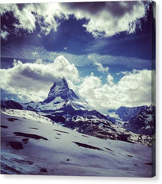 Matterhorn Canvas Print - Matterhorn Switzerland by Wesley Johnson