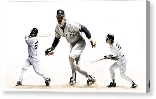 Mattingly Don Mattingly Canvas Print