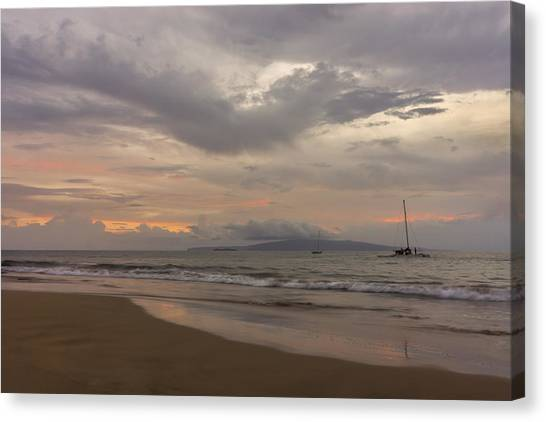 Maui Beach Canvas Print