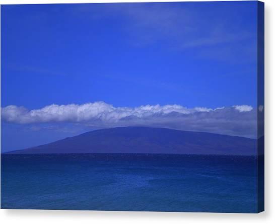 Maui Island View Canvas Print