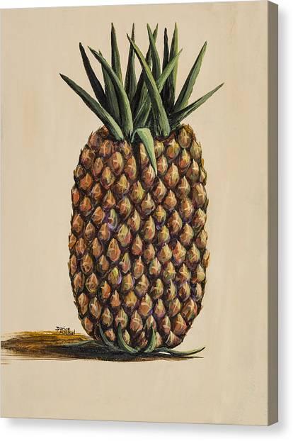 Maui Pineapple 3 Canvas Print