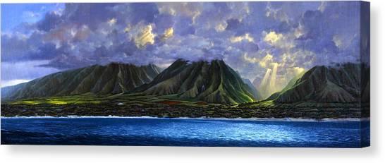 Maui Splendor Canvas Print