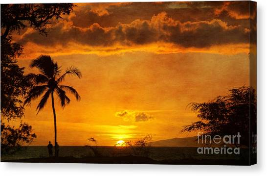 Maui Sunset Dream Canvas Print