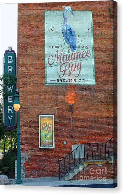 Maumee Bay Brewing Company 2135 Canvas Print