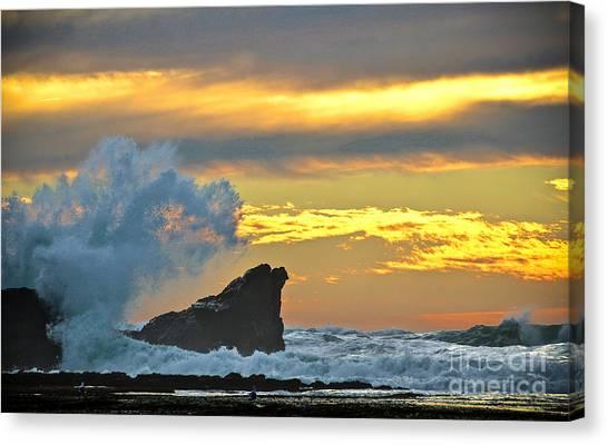 Mavericks - Princeton By The Sea Canvas Print