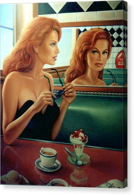 Patrick Canvas Print - Maxine Revealed by Patrick Anthony Pierson