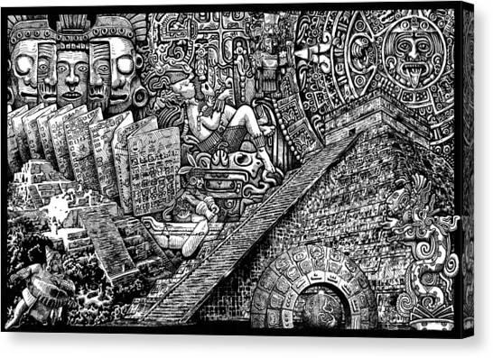 Mayannual Canvas Print