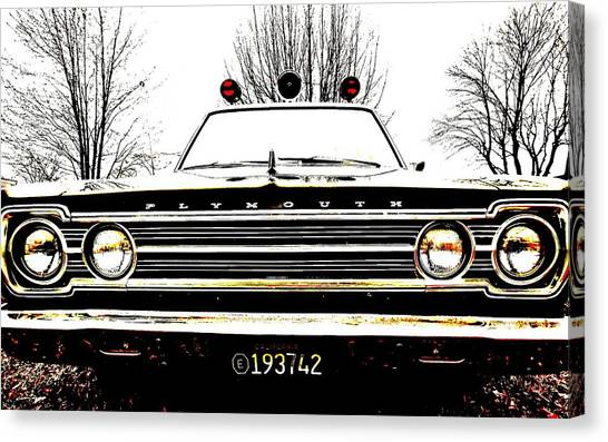 Mayberry Canvas Print by Sharon Costa