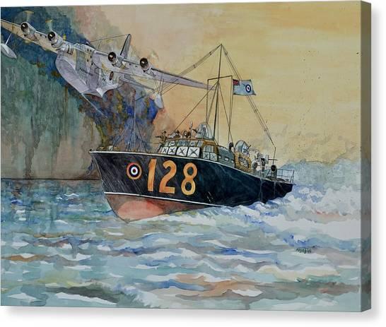 Sunderland Canvas Print - Mayday Mayday by Ray Agius