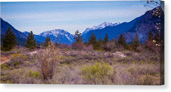 Canvas Print featuring the photograph Mazama From Wolf Creek by Omaste Witkowski