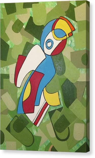 Mccoy Canvas Print by Daniel Burtea