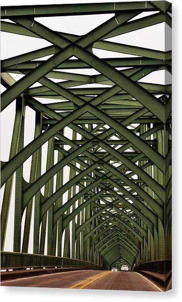 Mccullough Memorial Bridge Canvas Print
