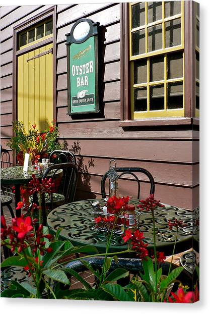 Mcgarvey's Saloon And Oyster Bar Canvas Print