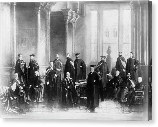 1880s Canvas Print - Mcgill University's Medical Faculty by National Library Of Medicine