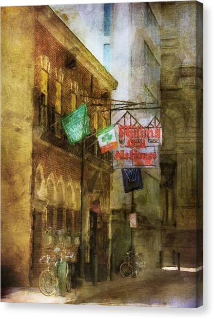Mcgillins Olde Ale House Canvas Print