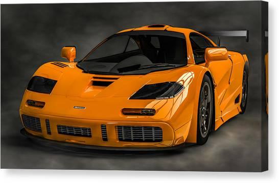 Mclaren F1 Lm Canvas Print