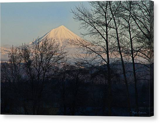 Mt. Massive Canvas Print - Mclaughlin Late Winter Day by Mick Anderson