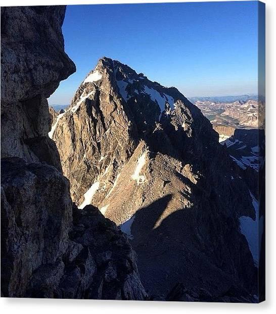 Tetons Canvas Print - #mcm. My Mountain Crush Monday Photo by David Wells