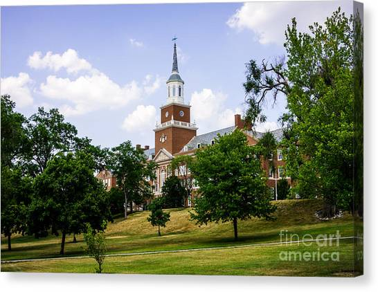 Aac Canvas Print - Mcmicken College At University Of Cincinnati  by Paul Velgos