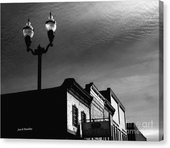 Mcminnville Skyline Canvas Print by   Joe Beasley