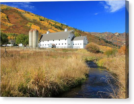 Mcpolin Barn Canvas Print