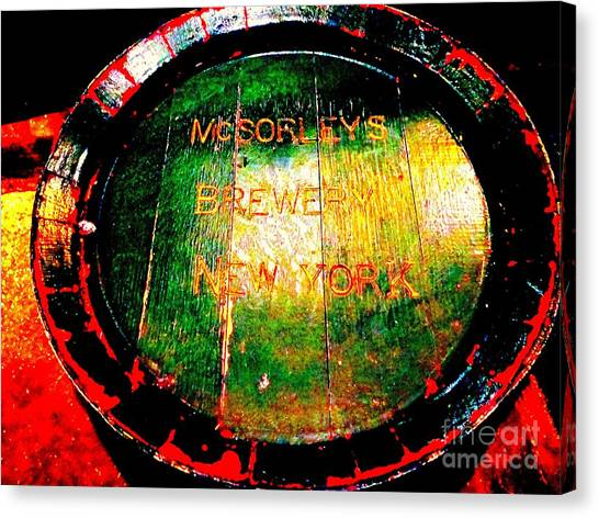 Mcsorleys Brewery Canvas Print