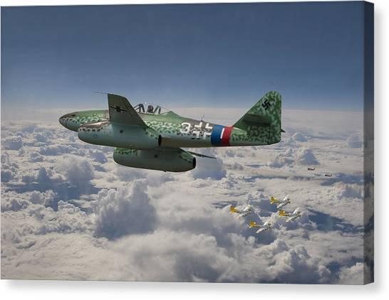 Luftwaffe Canvas Print - Me 262 - Stormbird by Pat Speirs
