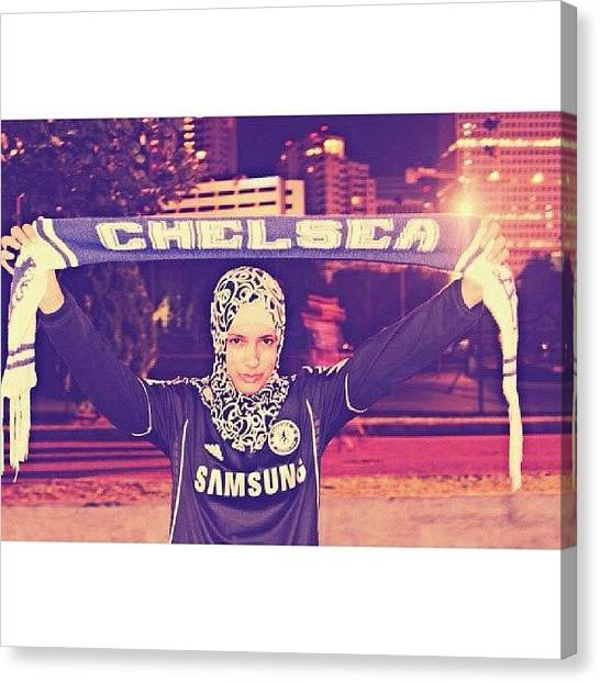 Shakira Canvas Print - #me #chelsea #cfctour #asia #indonesia by Inas Shakira