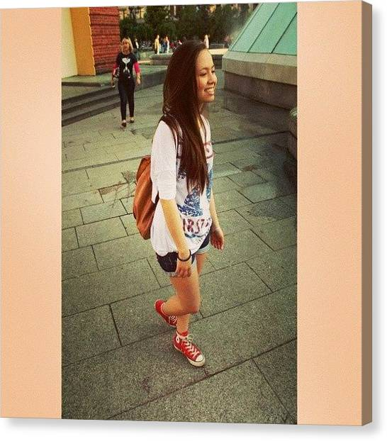 Vietnamese Canvas Print - #me #girl #converse #style #photo by Lina Dong