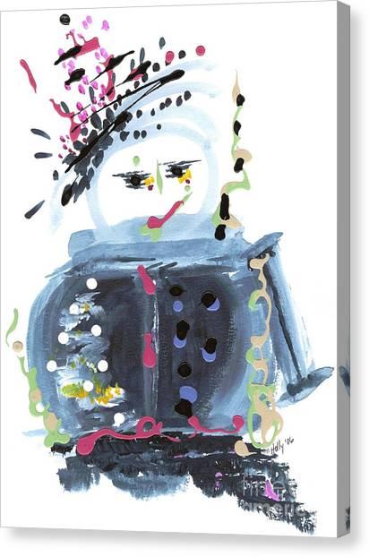 Me Stewpot Canvas Print