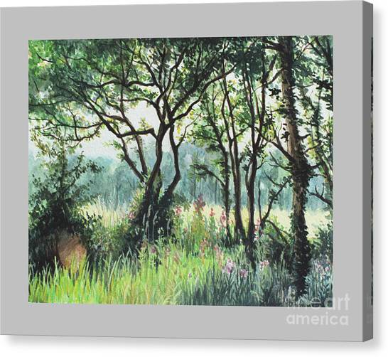 Meadow Canvas Print by Caroline Beaumont
